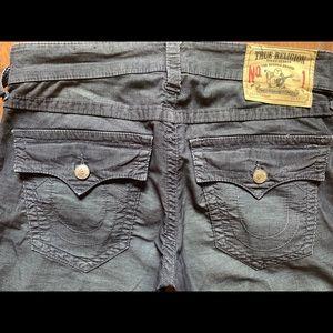 True Religion Corduroy pants size 32